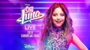 Cartel Soy Luna Live Tour 2018