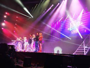 Bailarines y actores Soy Luna Live Tour 2018