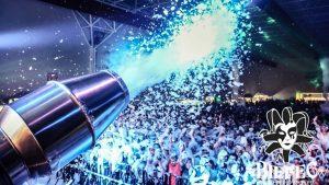 Fiestas de la espuma Biefec efectos especiales