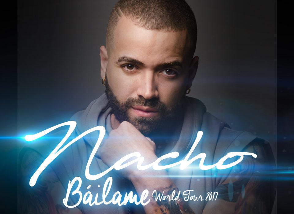 Nacho en concierto en España dentro de la gira Bailame World Tour. BIEFEC FX Efectos Especiales.