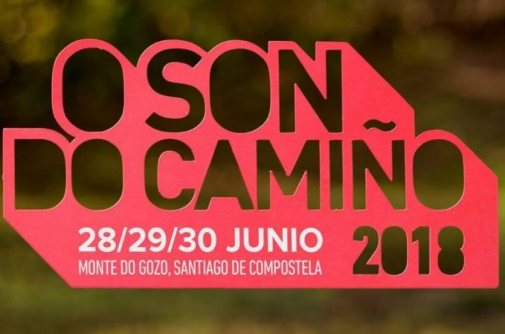 Cartel del Festival O Son Do Camiño 2018. BIEFEC FX Efectos Especiales.
