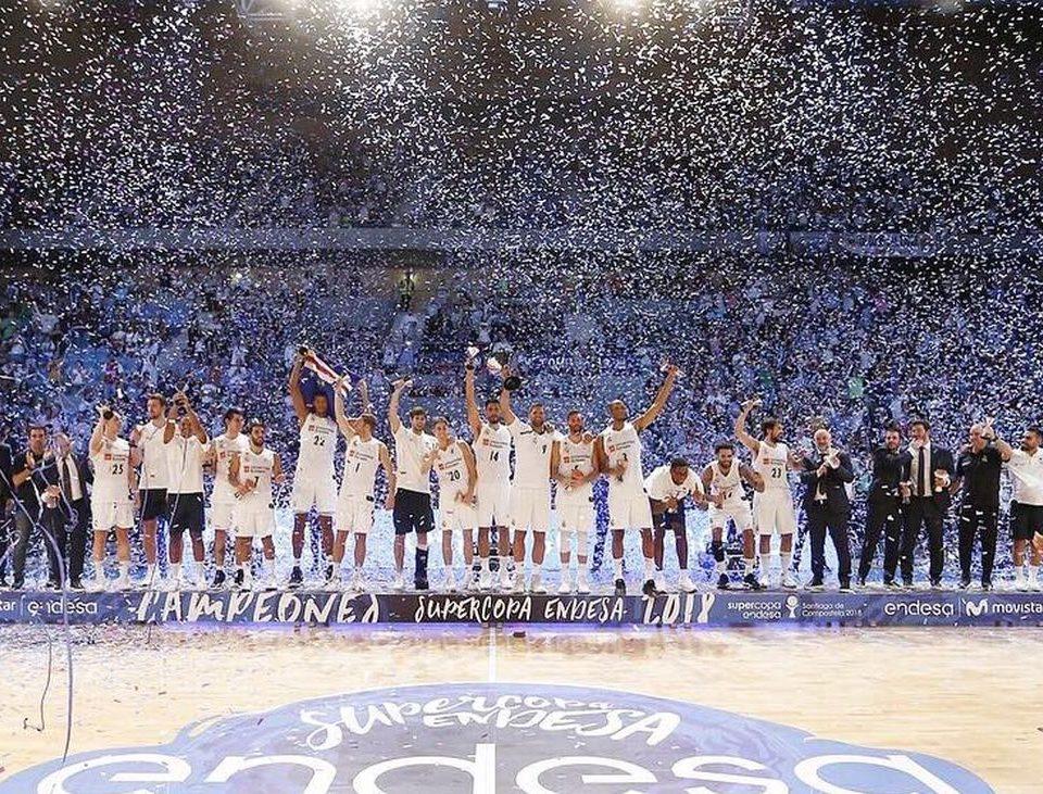 Miles de confeti en la Final Supercopa Endesa 2018 de Baloncesto. BIEFEC, FX, Efectos Especiales.