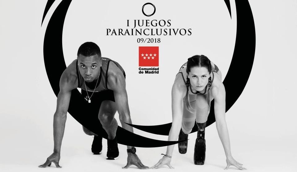Cartel de los Juegos Parainclusivos Comunidad de Madrid. BIEFEC FX, Efectos Especiales