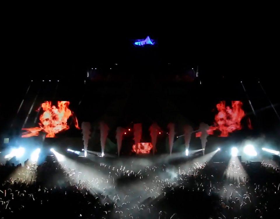 Lanzallamas, Flamaniac, CO2 Jet, Pirotecnia, Confetti, Streamers y muchos más efectos especiales para el Festival Utopía, en Madrid, por Biefec FX, Efectos Especiales, para eventos y fiestas.