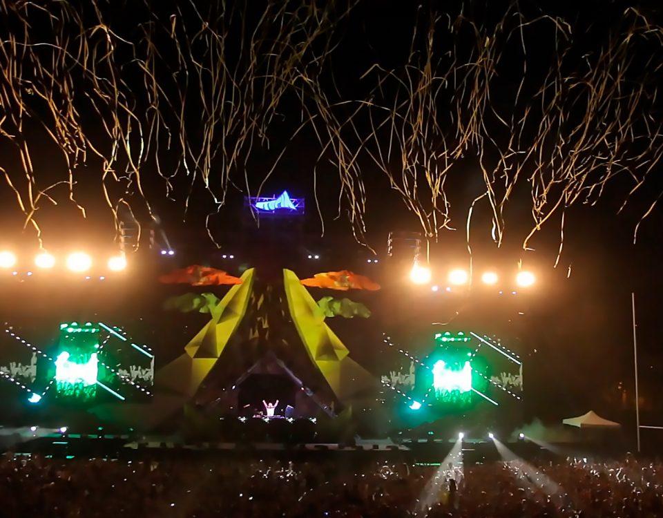 Serpentinas, Streamers, para grandes conciertos, festivales, giras, eventos deportivos en los que ha trabajado BIEFEC FX Efectos Especiales