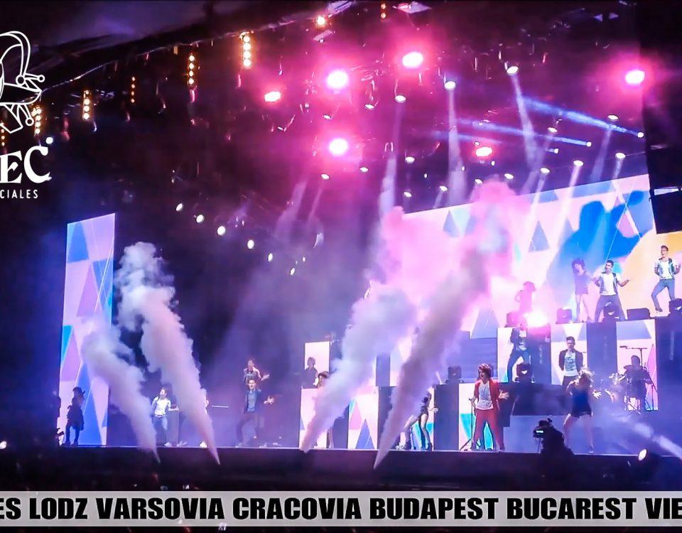 Resumen de los efectos de BIEFEC FX Efectos Especiales que formaron parte de las Giras Europeas Violetta Live Tour, con más de 180 conciertos en 42 ciudades.