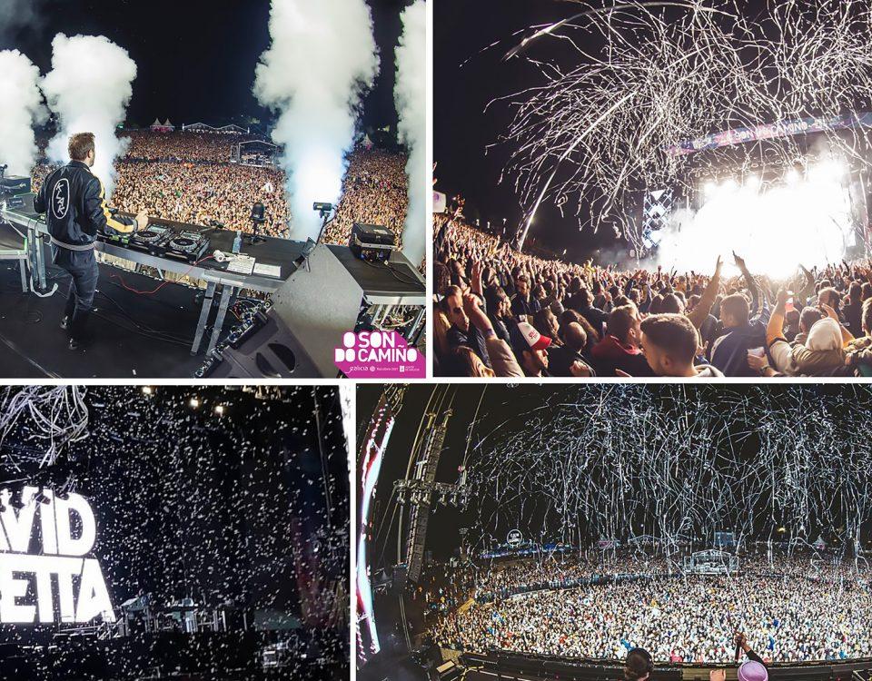 BIEFEC FX Efectos Especiales para David Guetta, W&W, Black Eyed Peas y Dimitri Vegas & Like Mike en el Festival O Son do Camiño, edición 2019.